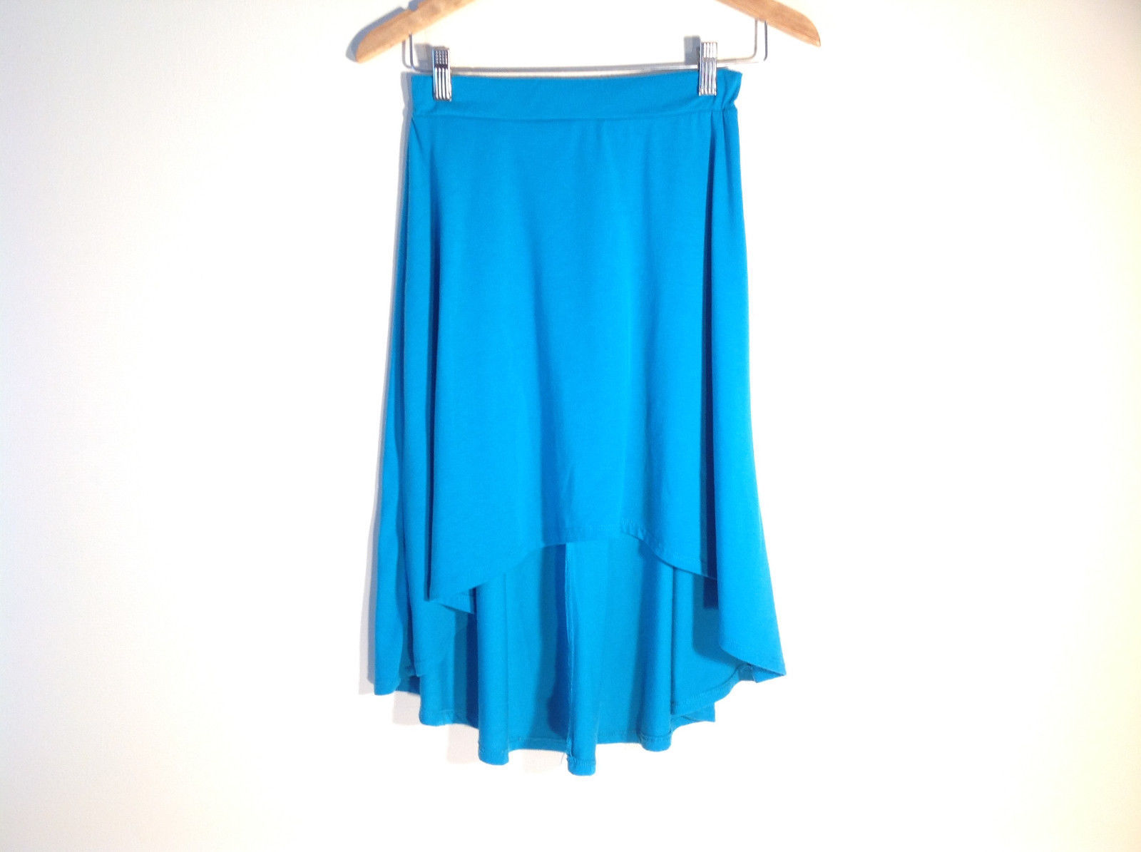 Womens Ambivalence Apparel Size S Teal Skirt Stretchy Great