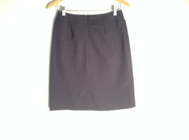 Womens George Rich Black Size 6 Skirt Stretchy Waist