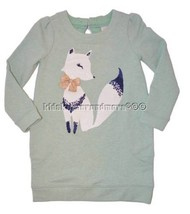 Gymboree All Spruced Up 10 Green Fox Cotton Dre... - $28.89