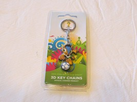 2014 FIFA World Cup Brazil 3D keychain key ring... - $19.78