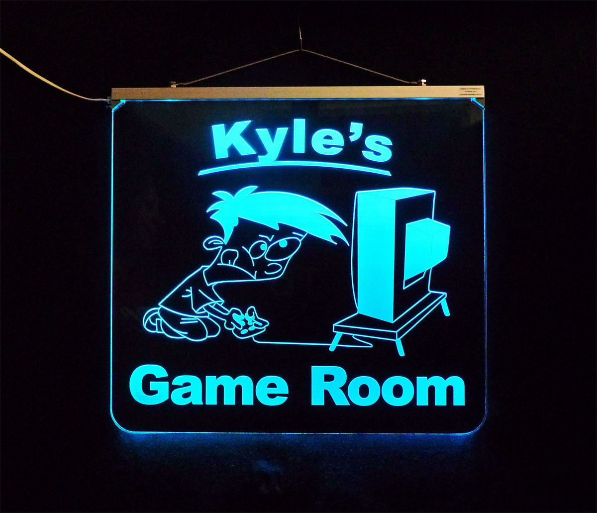 Personalized Game Room, Man Cave, Garage, Bar, LED Sign image 4