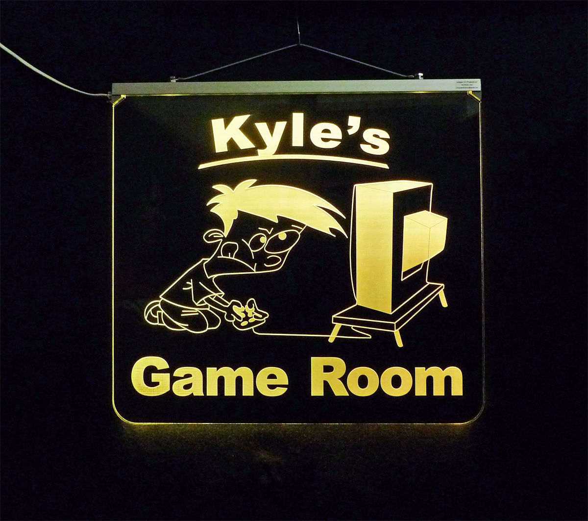 Personalized Game Room, Man Cave, Garage, Bar, LED Sign image 7