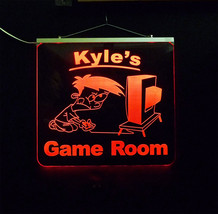 Personalized Game Room, Man Cave, Garage, Bar, LED Sign image 6