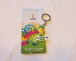 soccer 2014 FIFA World Cup Brazil 3D keychain key ring NEW RARE emblem Brasil