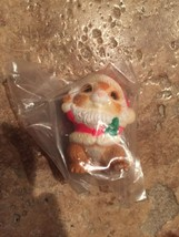 Brand New Hallmark Merry Miniature Christmas - 1985 Chipmunk Dressed as ... - $9.90