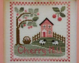 Cherry Hill cross stitch chart Country Cottage Needleworks