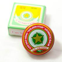 GOLDEN STAR BALM, BÁLSAMO ESTRELLA DE ORO 12 Boxes x 10 gram, COLD, INSE... - $15.65