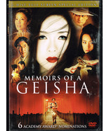 Memoirs of a Geisha (DVD, 2006, 2-Disc Set, Full Frame)  free shipping - $5.87