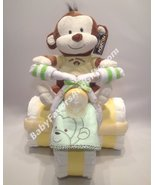 Tricycle Diaper Cake with toy - see more colors - $82.00