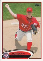 Jordan Zimmermann 2012 Topps Series 1 Card #75 - $0.99