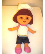 13in. Plush Chef Dora The Explorer Fisher Price - $8.00