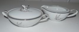 Noritake Candice Lidded Sugar Bowl and Creamer - $25.00