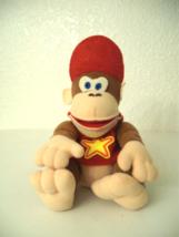 """6""""  Diddy Kong Nintendo 64 1997 Bean Bag Character - $8.50"""