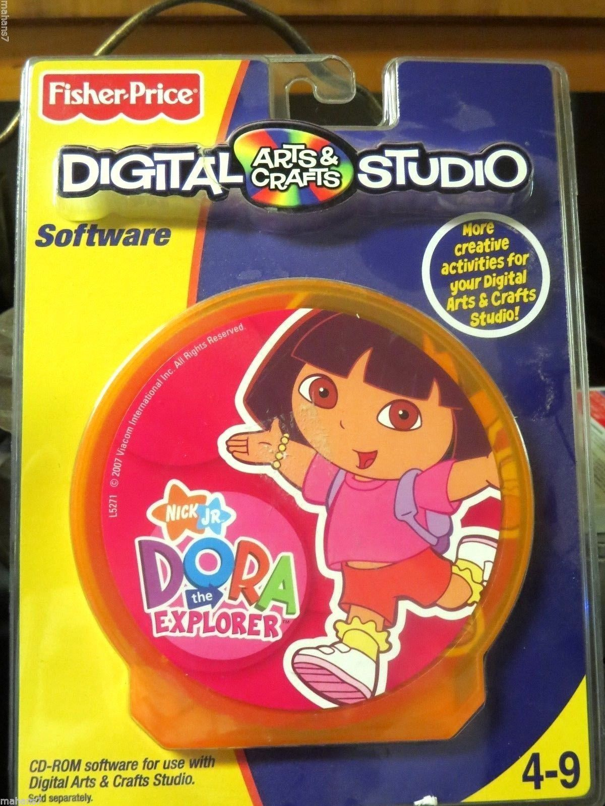 fisher price digital arts and crafts studio software nick