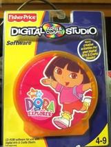 Fisher-Price Digital Arts and Crafts Studio Software, Nick Jr, Dora The Explorer - $13.80