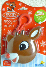 Rudolph To The Rescue Mini Game w/ Backpack Clip by Briarpatch - $7.91