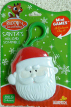Santa's Holiday Scramble Mini Games w/ Backpack Clip by Briarpatch - $7.91