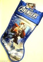 "Marvel Avengers Assemble ""Thor"" Stocking With Holographic Image - $14.85"