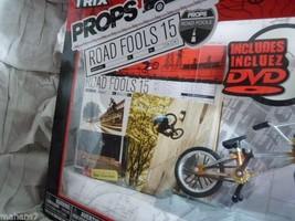 Flick Trix Finger Bike Props  FitBike Co. Road Fools 15 Includes DVD - $18.56