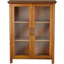 Small Cabinet Storage Cupboard Curio Home Furni... - $148.14