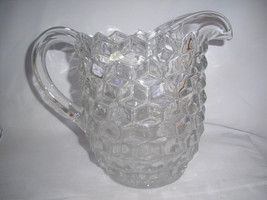"VINTAGE FASTORIA AMERICAN Water Juice PITCHER LARGE 7 3/4"" Tall - $21.83"