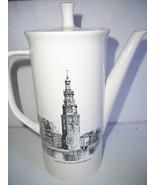 """VINTAGE VILLEROY BOCH TEA COFFEE POT  WESTERTOREN MONTELBAANSTOREN 9 """" T... - $32.18"""