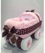 Baby Carriage Diaper Cake Unisex - see more colors - $92.00