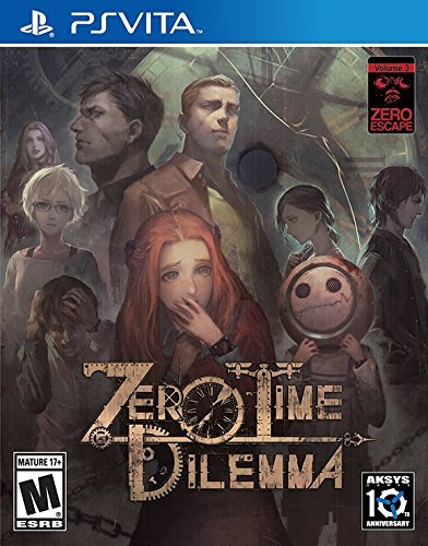 Zero Time Dilemma Zero Escape 3 Limited Watch Bonus Edition PS VITA Playstation