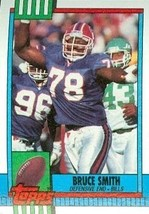 Bruce Smith Football Card (Buffalo Bills) 1990 Topps #205 - $3.00