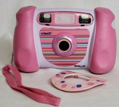 VTech Kidizoom Camera Connect, Pink, Digital Camera with USB Girls Filters - $21.78