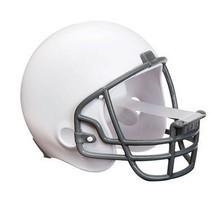 Scotch Magic Tape Dispenser - White Football Helmet - $134,60 MXN