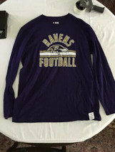 BALTIMORE RAVENS NFL TEAM APPAREL REVERSIBLE ADULT MENS JERSEY [M] NWT - $19.75
