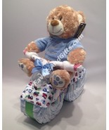 Bicycle Diaper Cake - see more colors - $68.00
