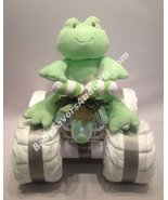 4 Wheeler (ATV) Diaper Cake - see more colors and toys - $72.00