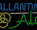 Ballantine ale yellow neon sign 16  x 16  thumb155 crop
