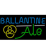 Ballantine ale yellow neon sign 16  x 16  thumbtall