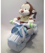 Motorcycle Diaper Cake - see more colors - $82.00