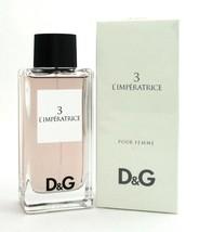 3 L'Imperatrice Perfume Pour Femme by Dolce & Gabbana 3.3 oz. EDT Spray NEW - $41.15