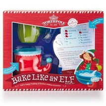 Hallmark Christmas Northpole Bake Like an Elf Baking Kit w/ Recipe Cards - $14.99