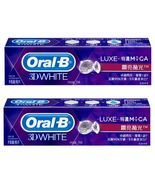 2x oral b 3d white luxe brillance white toothpaste 90g 2 thumbtall