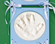 Hand & Footprint Wall Frames  Blue
