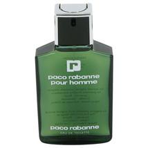 PACO RABANNE Pour Homme EDT Spray 3.4 oz Perfume Cologne EAU DE TOILETTE... - $37.99