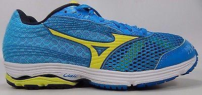 Mizuno Wave Sayonara 3 Women's Running Shoes Size US 6 M (B) EU 36 Blue Yellow
