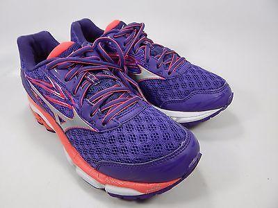 Mizuno Wave Inspire 12 Women's Running Shoes Size US 7 M (B) EU 37 Purple Pink