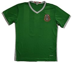 Mexico Home Jersey Adult Size Sm, md, Lg, XLg (Large, NO Name) - $28.41
