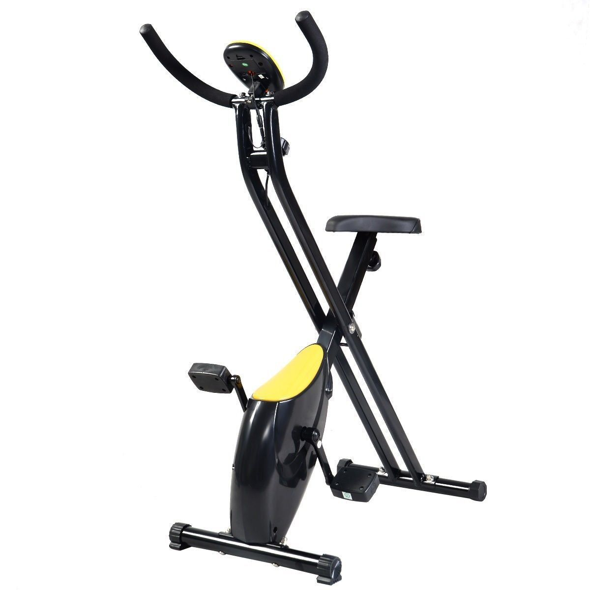 Home Exercise Equipment Bikes: Foldable Exercise Bike Compact Indoor Cycling Home Workout