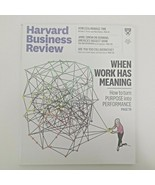 Harvard Business Review July/August 2018 When Work Has Meaning - Managin... - $13.29