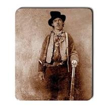 Memorable Billy The Kid Large Mousepad : Pc Mouse Pad (23cm x 19.4cm) - $4.99