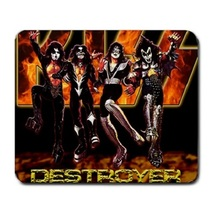 Memorable Kiss Band Rock N Roll Music Large Mousepad : Mouse Pad (23cm x... - $4.99