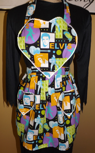 Elvis Full size Child Apron IN STOCK